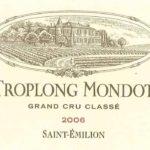 vertdevin-Château Troplong Mondot 2006-1er Grand Cru Classé de Saint-Emilion