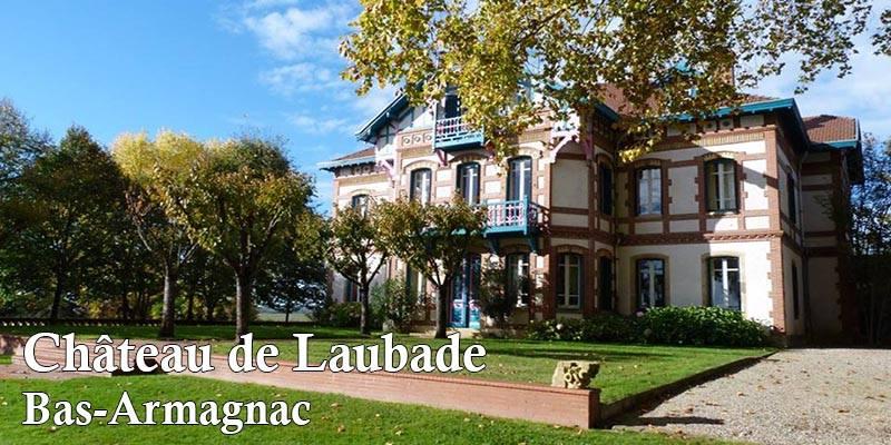 vertdevin-Château de Laubade Bas Armagnac vignobles Lesgourgues