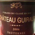 vertdevin-Chateau Guiraud 2006–1er Grand Cru Classé de Sauternes