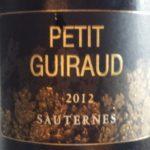 vertdevin-Petit Guiraud 2012-Sauternes