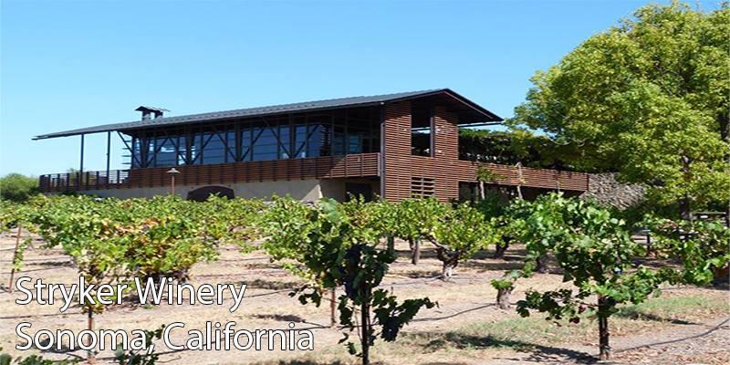 vertdevin Stryker Winery Sonoma Californie une