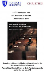 vertdevin-155ème vente des Hospices de Beaune
