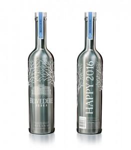 vertdevin-Vodka Belvedere magnum personnalisé