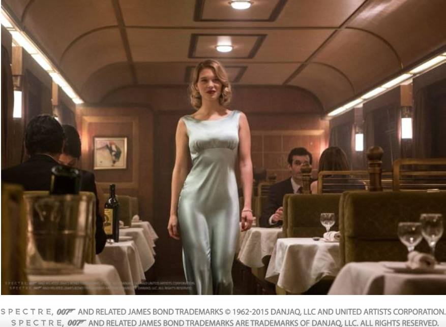 Lea Seydoux in Metro-Goldwyn-Mayer Pictures/Columbia Pictures/EON Productions' action adventure SPECTRE. James Bond Trademarks©