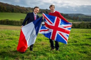 Pierre-Emmanuel Taittinger and Patrick McGrath MW ©taittinger