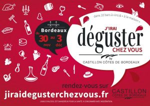 « J'irai déguster chez vous » N° 2 by Castillon Côtes-de-Bordeaux
