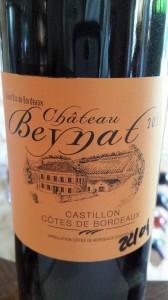 Château Beynat 2011 – Castillon Côtes de Bordeaux