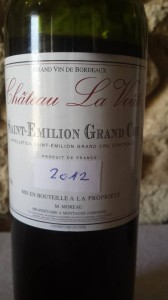Château La Voûte 2012 – Saint-Emilion Grand Cru
