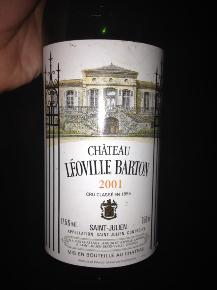 Château Léoville-Barton 2001 – 2ème Grand Cru Classé de Saint-Julien