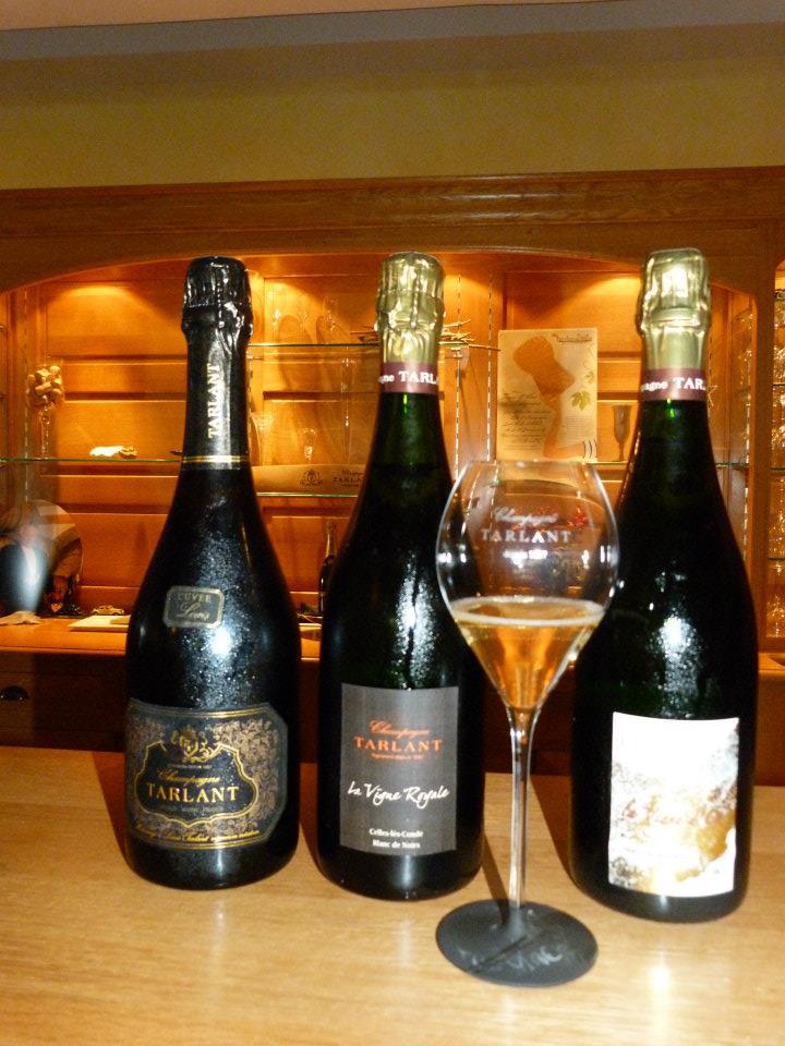 Champagne Tarlant – Blanc de Noirs – La Vigne Royale (vendange 2003)