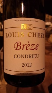 Louis Cheze – Brèze – Condrieu 2012 (blanc)
