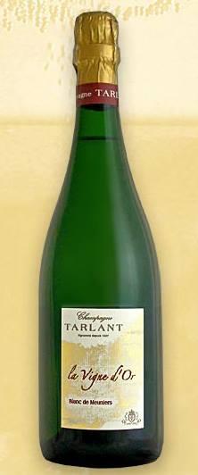 Champagne Tarlant – Blanc de Meuniers – La vigne D'or (Harvest 2002) – Extra Brut