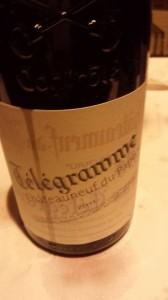 Le Vieux Télégraphe – Châteauneuf-du-Pape 2011 (rouge)