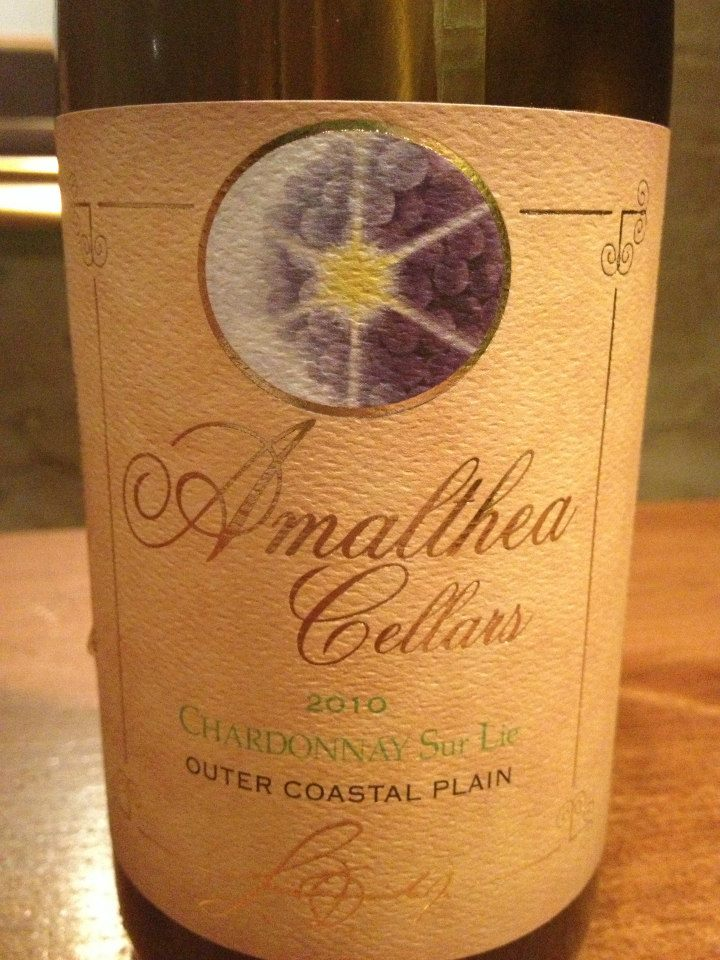 Amalthea Cellars – Chardonnay 2010 – Outer Coastal Plain