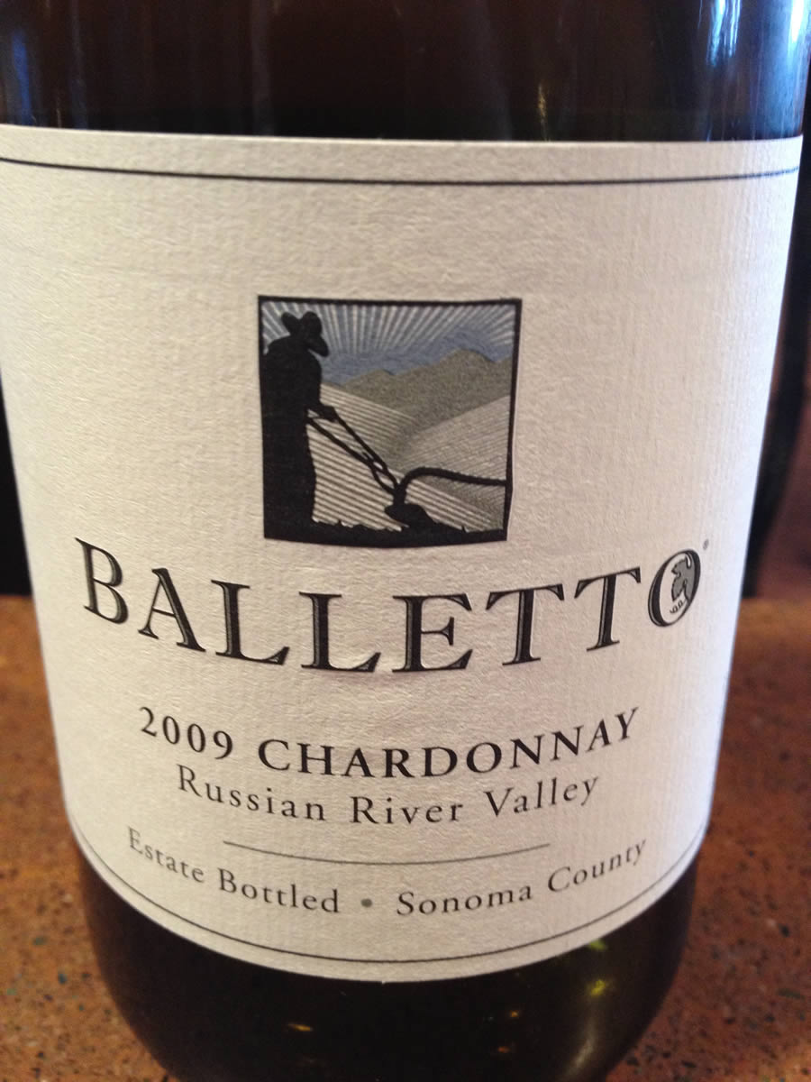 Balletto Winery – Chardonnay 2009 – Russian River Valley – Sonoma