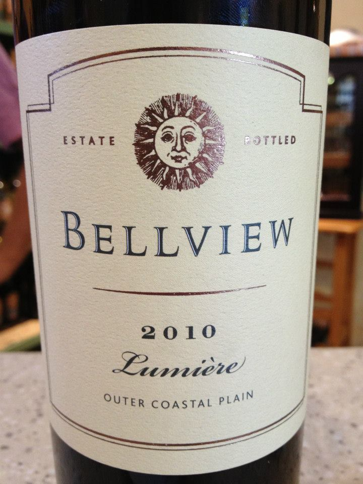 Bellview Winery – Lumière 2010 – Outer Coastal Plain