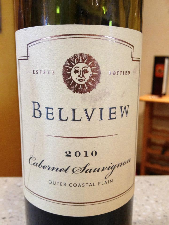 Bellview Winery – Cabernet Sauvignon 2010 – Outer Coastal Plain