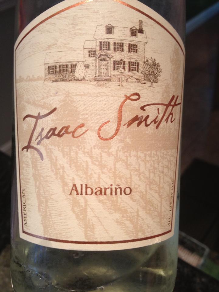 Cape May Winery – Isaac Smith Albariño 2012 – Outer Coastal Plain