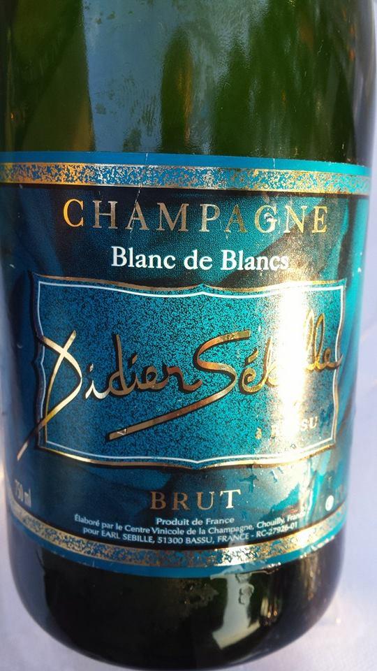 Champagne Didier Sébille – BRUT – Blanc de Blancs – NV