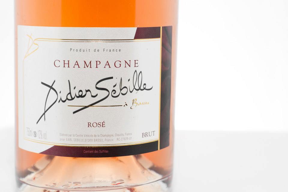 Champagne Didier Sébille – BRUT – Rosé