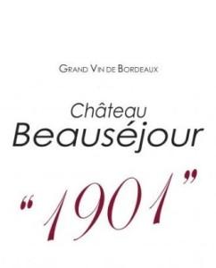 Château Beauséjour 2012 – Cuvée 1901 – Montagne Saint-Emilion