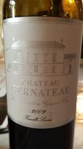 Château Bernateau 2009 – Saint-Emilion Grand Cru