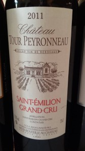 Château Tour Peyronneau 2011 – Saint-Emilion Grand Cru