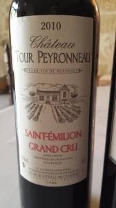 Château Tour Peyronneau 2010 – Saint-Emilion Grand Cru