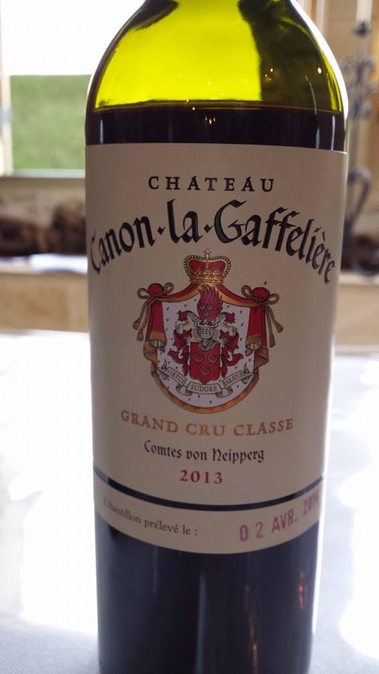 Château Canon-La-Gaffelière – 1er Grand Cru Classé B de Saint-Emilion – 2013