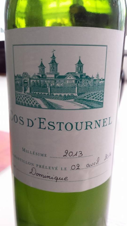Cos d'Estournel – Bordeaux – 2013