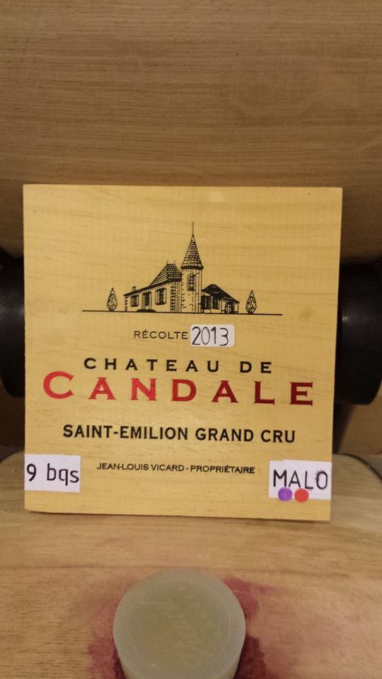 Château de Candale 2013 – Saint-Emilion Grand Cru