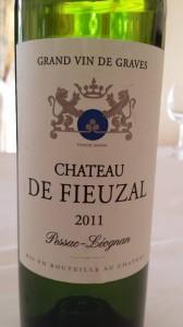 Château de Fieuzal 2011 – Pessac Léognan