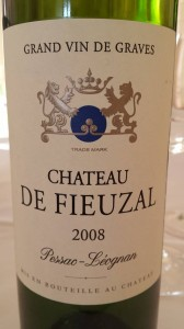 Château Fieuzal 2008 – Pessac Léognan