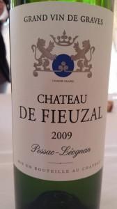 Château de Fieuzal 2009 – Pessac Léognan