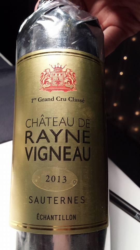 Château Rayne Vigneau – 1er Grand Cru Classé de Sauternes – 2013
