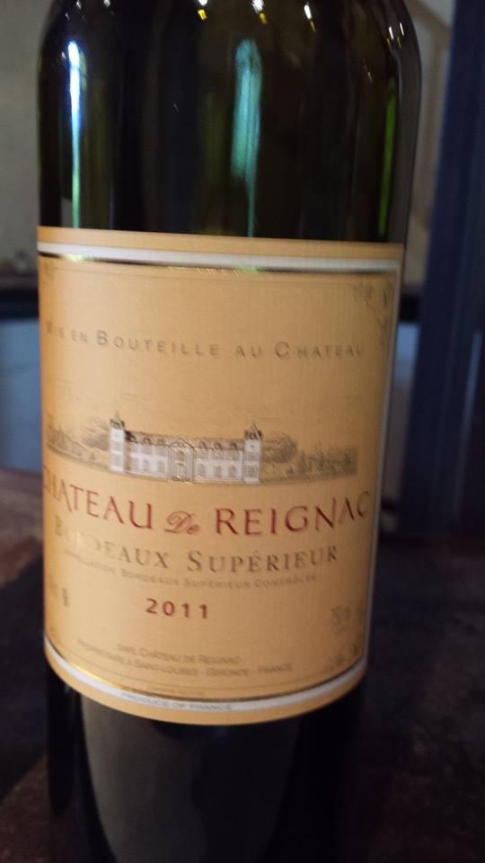 Château de Reignac – Bordeaux Supérieur – 2011 (Rouge)