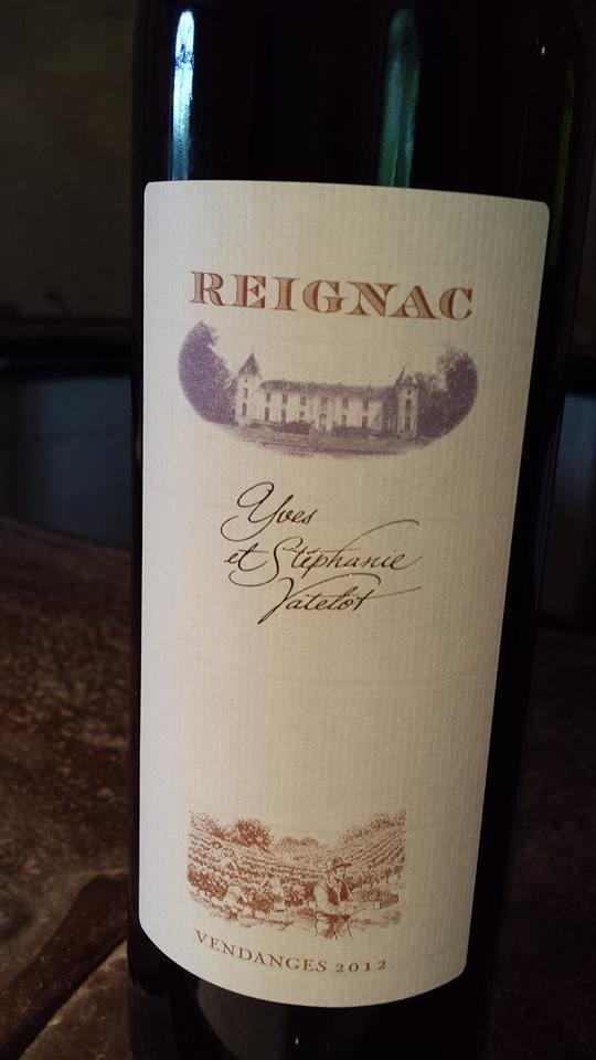 Reignac – Bordeaux – 2012 (Blanc)