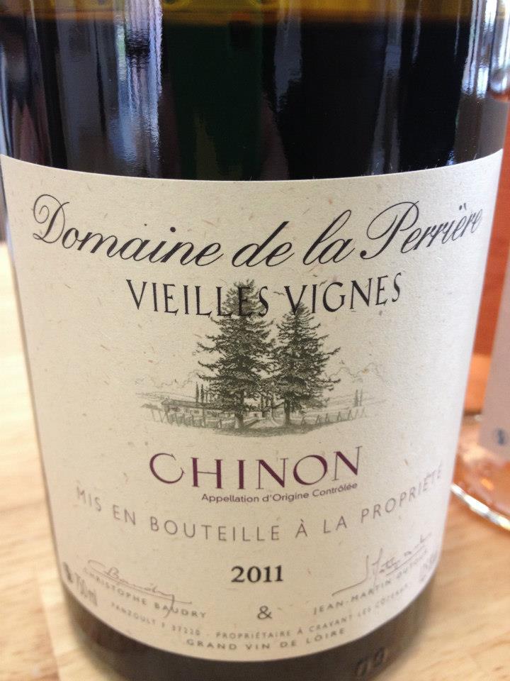 Domaine de la Perrière – Vieilles Vignes 2011 – CHINON