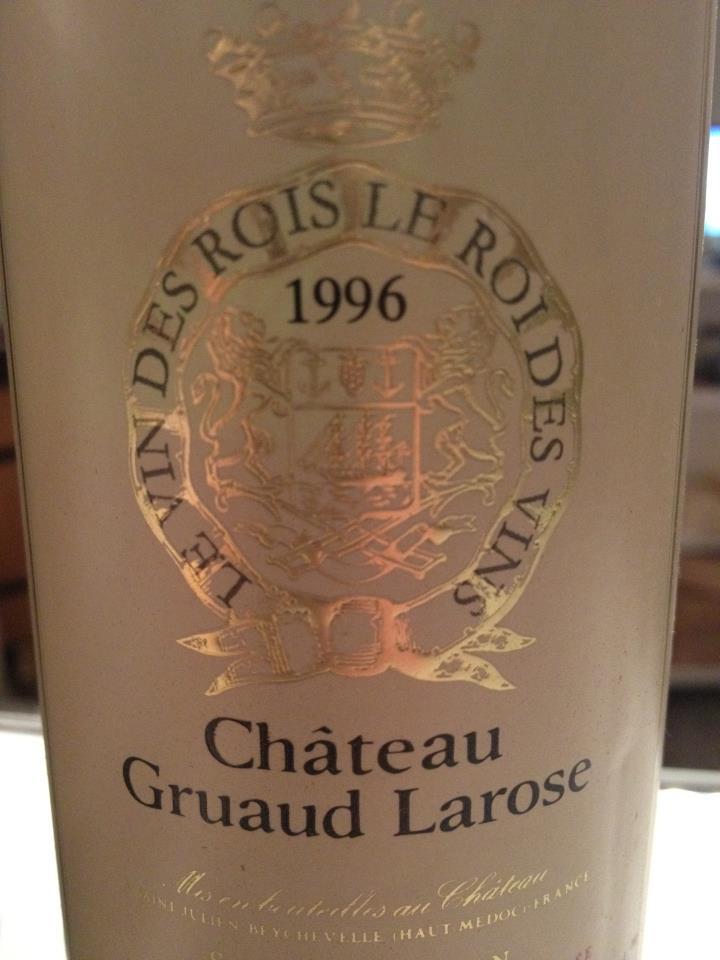 Château Gruaud Larose 1996 – 2ème Grand Cru Classé de Saint-Julien