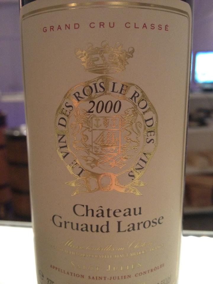 Château Gruaud Larose 2000 – 2nd Grand Cru Classé of Saint-Julien