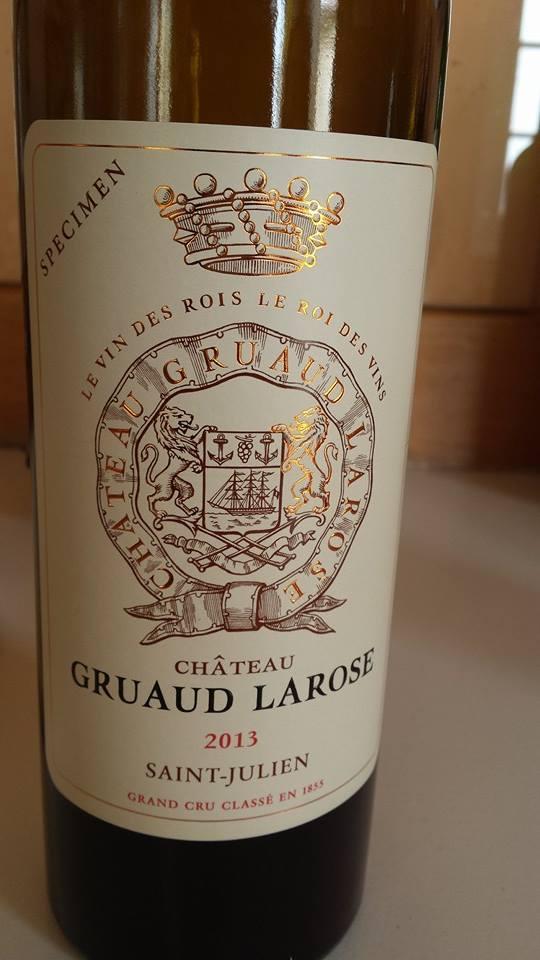 Château Gruaud Larose – 2nd Cru Classé, Saint-Julien – 2013