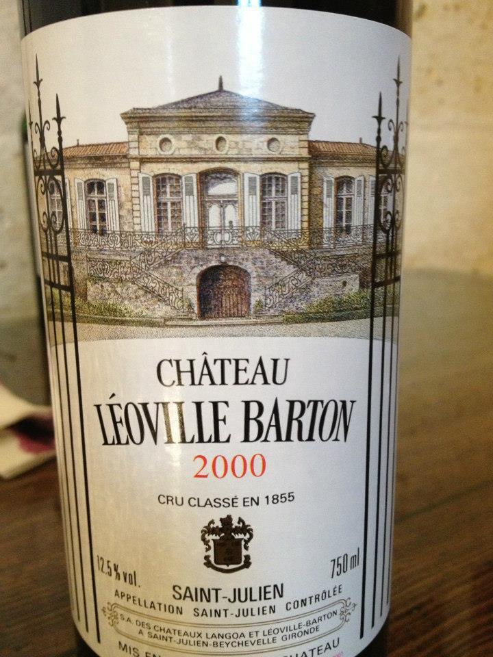 Château Léoville-Barton 2000 – 2ème Grand Cru Classé de Saint-Julien