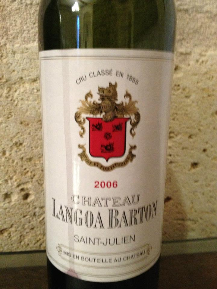 Château Langoa-Barton 2006 – 3ème Grand Cru Classé de Saint-Julien