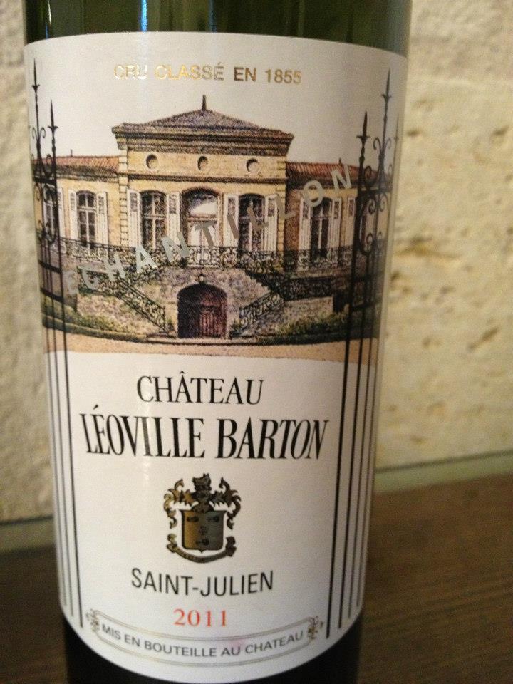 Château Léoville-Barton 2011 – 2ème Grand Cru Classé de Saint-Julien