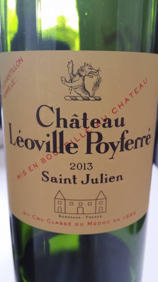 Château Léoville-Poyferré – 2nd Cru Classé, Saint-Julien – 2013