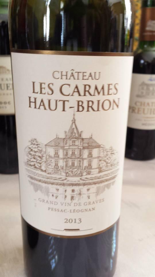 Château Les Carmes Haut-Brion – Grand Cru Classé de Graves – Pessac-Léognan – 2013