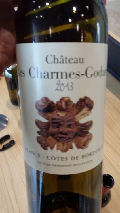 Château Les Charmes Godard – Francs Côtes de Bordeaux – 2013