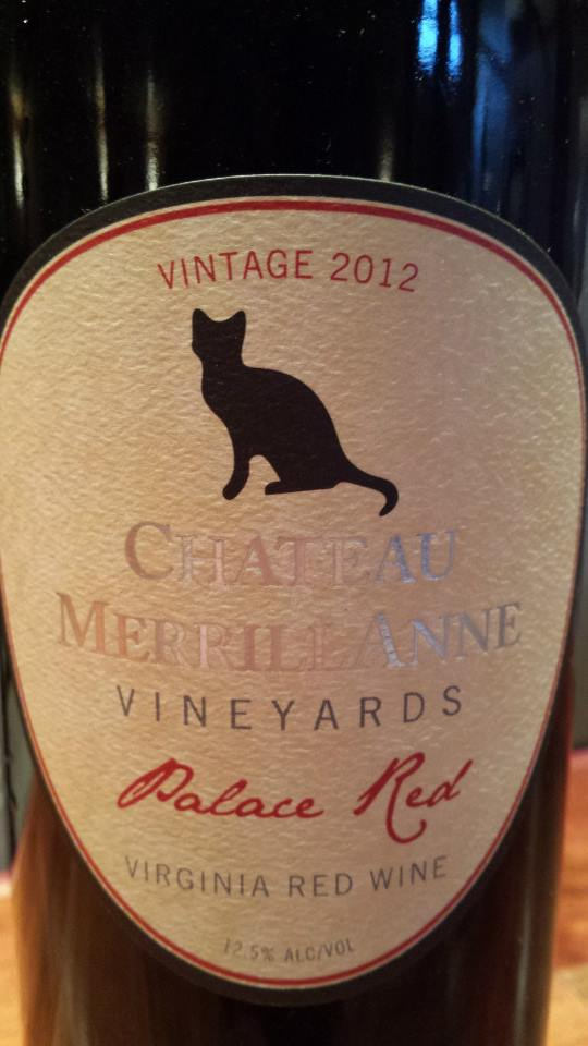 Château MerrillAnne – Palace Red 2012 – Virginia