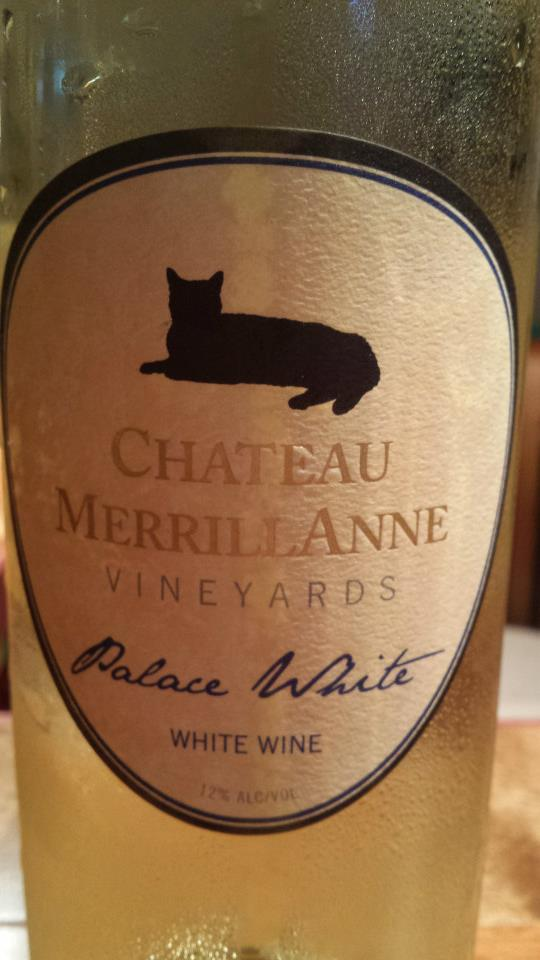 Château MerrillAnne – Palace White 2013 – Virginia