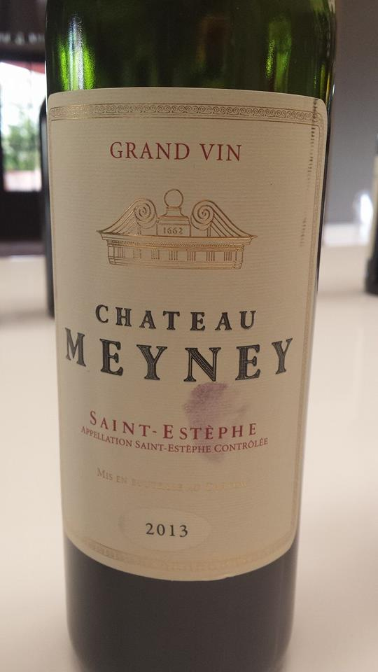 Château Meyney – Saint-Estèphe – 2013